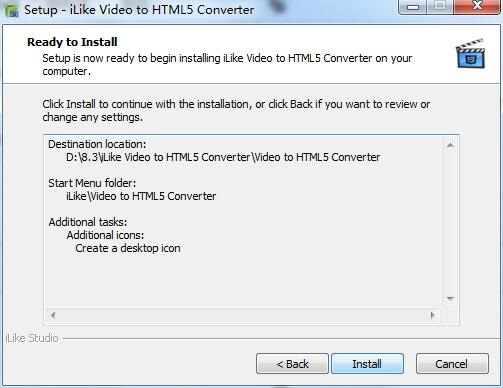 iLike Video to HTML5 Converter