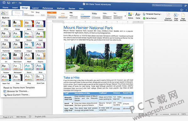 Office 2016 for Mac官方下载 Office 2016 for Mac家庭和学生版 PC下载...